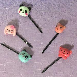 Cute and Fun Kawaii Bobby Pins